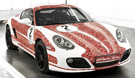 Porsche Cayman S «Facebook Edition»